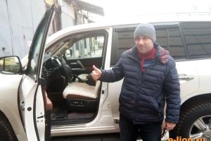 Toyota Land Cruiser-200, меховые чехлы, работой доволен!