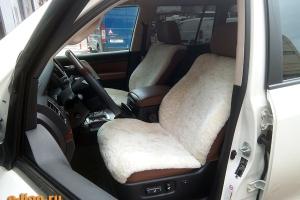 Toyota Land Cruiser-200, меховые чехлы