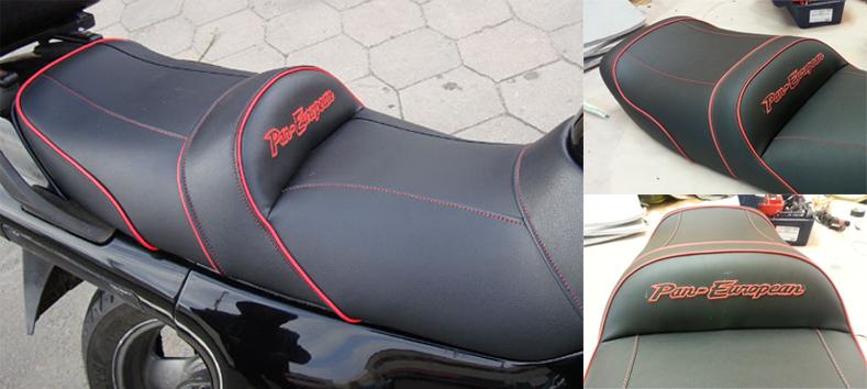 Перетяжка сидения мотоцикла Сузуки
